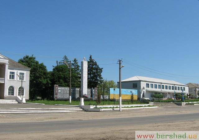 Центр села баланівка